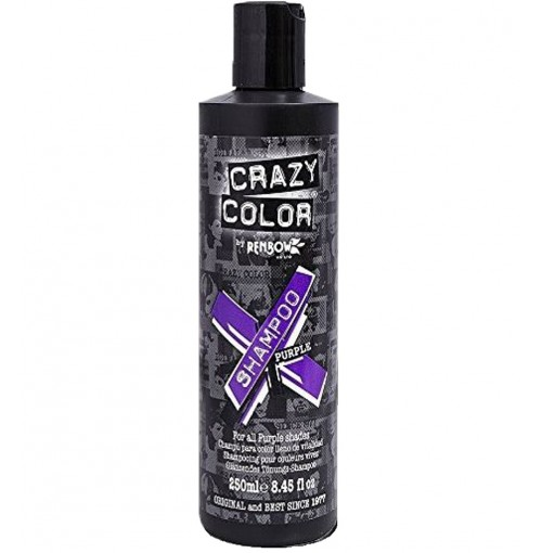 Sampon Crazy Color  Purple 250ml